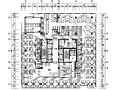 [四川]成都现代风格办公室设计CAD施工图(含效果图)
