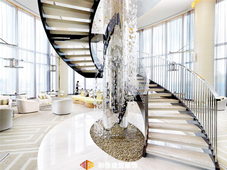 楼梯-皇冠假日酒店装修第1张图片