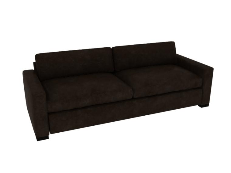 双人沙发3D模型下载-双人沙发