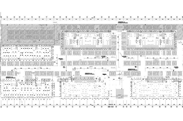 多套建筑工程暖通空调系统设计施工图(典型制冷换热站)