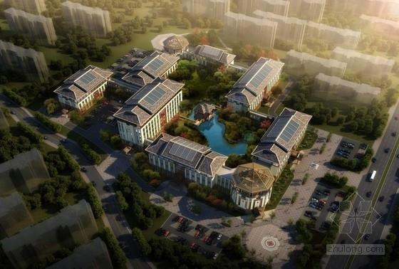 [合集]4套大型中式风格医疗建筑设计方案文本