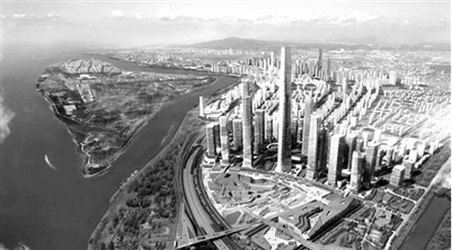 南京继紫峰大厦后或将建550米超高层地标!
