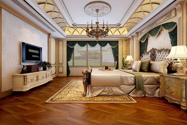 别墅装修设计时卧室这样设计会更好