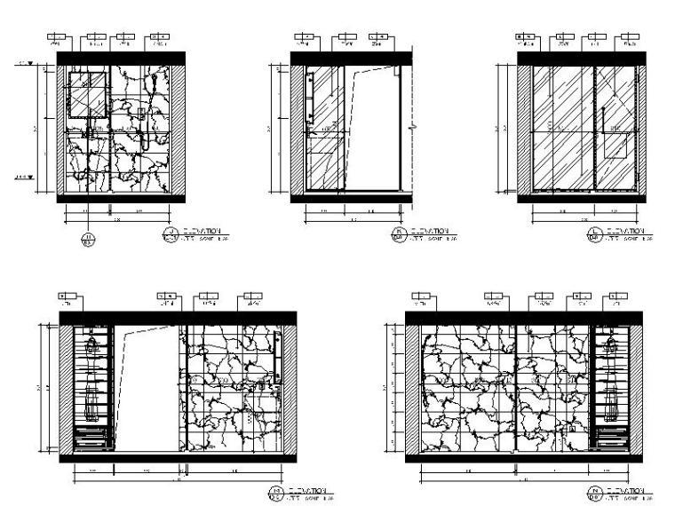 时尚LOFT住宅公寓样板房设计施工图 住宅装修 筑龙室内设计论坛