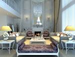 阳光别墅客厅3D模型下载