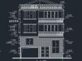三层独栋别墅建筑结构施工图