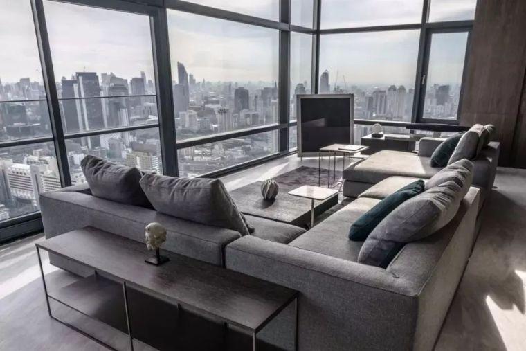 室内设计 130㎡的单身公寓,设计感十足_4