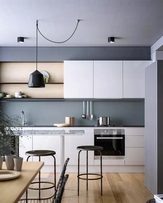 厨房比客厅还好看,让你爱上做饭!!_29