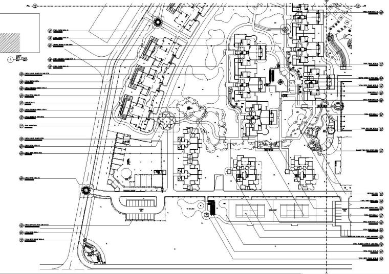[广东]HoroyHoneyLake景观设计施工图(45个CAD)