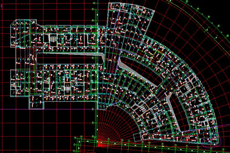 重庆恒大中央广场A区全套结构图纸_8