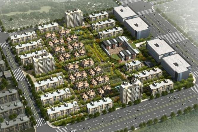 商品住宅及公建配套项目市文明工地汇报材料