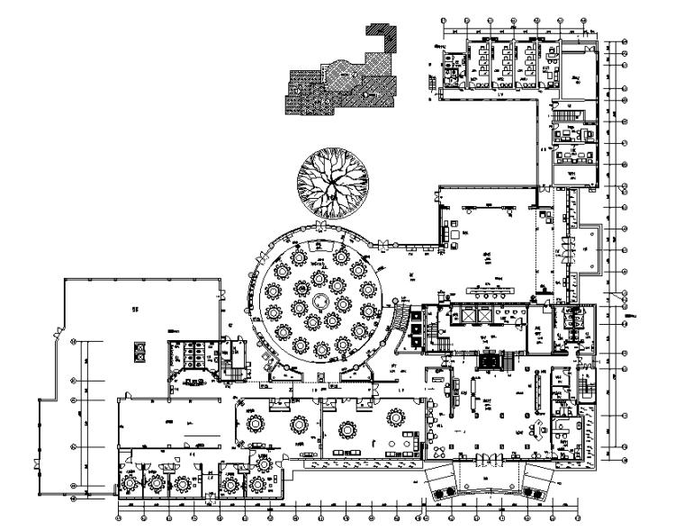 厦门天地人酒店施工图+效果图