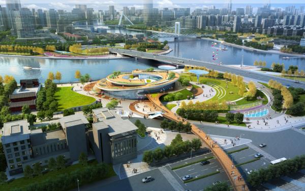 [浙江]滨水公共绿地城市文化新地标景观规划设计方案(6个公园项目附赠总体汇报视频)