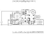 [河北]新古典风格三层别墅样板房施工图(含效果图)