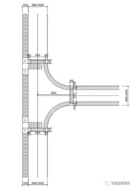 万科住宅内的道路设计,标准和施工做法,都是经验呀!!_27