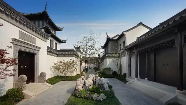 中式住宅景观 国人的田园梦_7