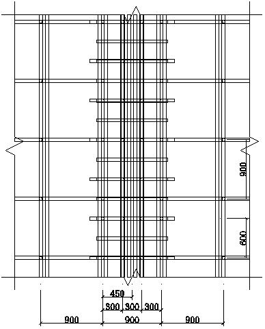 [宁波]高层住宅项目高大支模架专项施工方案(145页)含计算书图纸-19平面图