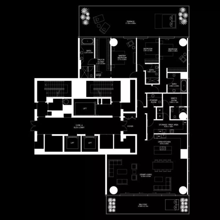 """迪拜造了""""天空中的别墅"""",最小户型300平米,顶层复式卖3.4亿_14"""