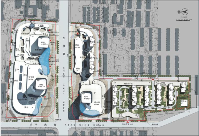 [河南]地标性超高层写字楼SOHO公寓及商业综合体方案(含CAD)_8