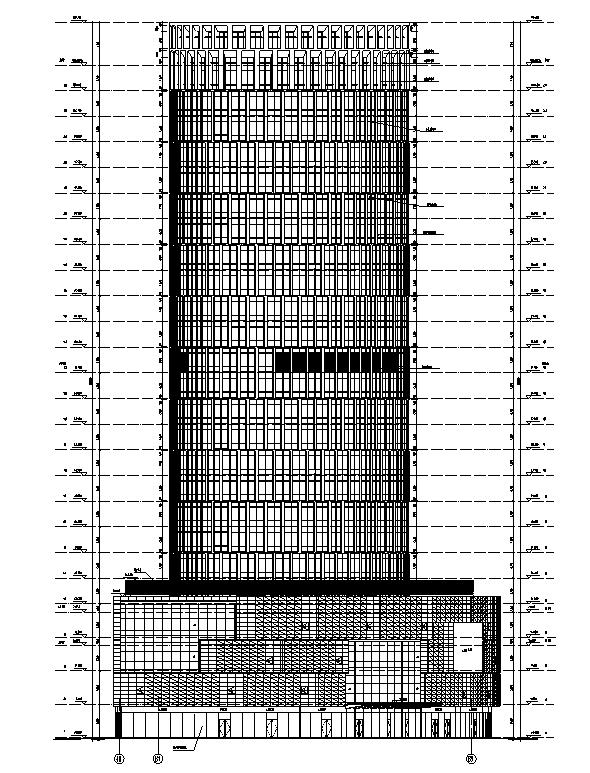 [上海]国际知名设计院办公楼最终审核图纸(16年最新)_6