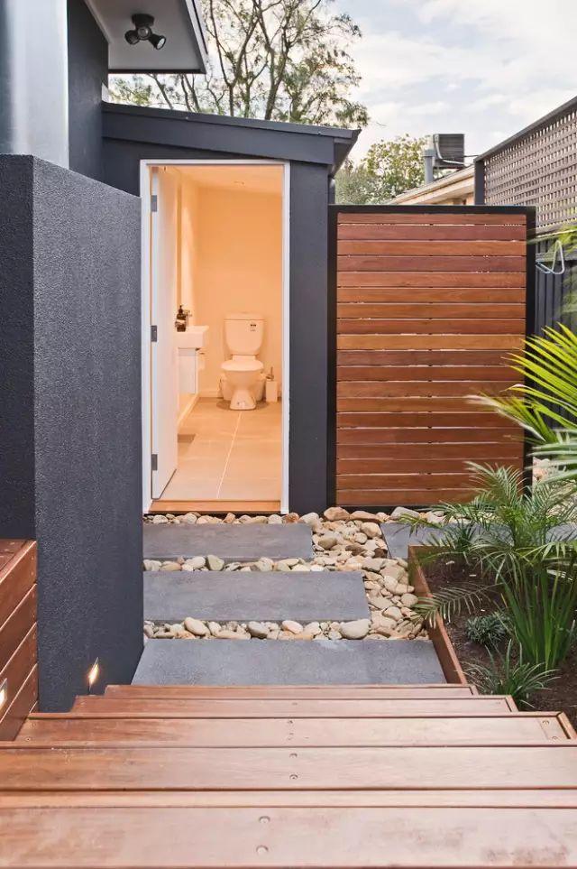 赶紧收藏!21个最美现代风格庭院设计案例_86