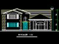 两层小别墅建筑施工图