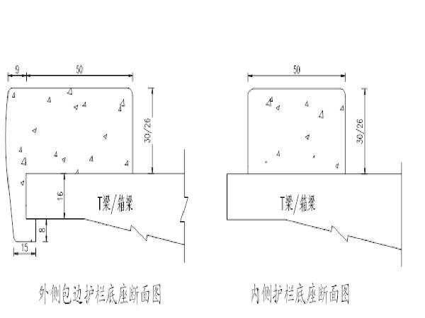 桥梁工程护栏底座施工方案