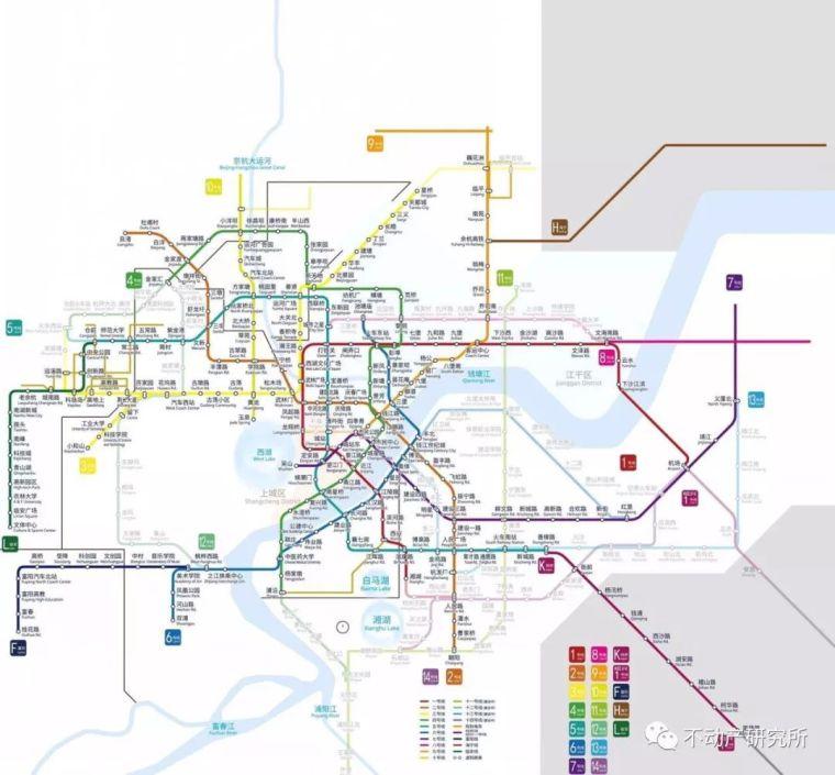 杭州地铁1-10号线建设时序_1