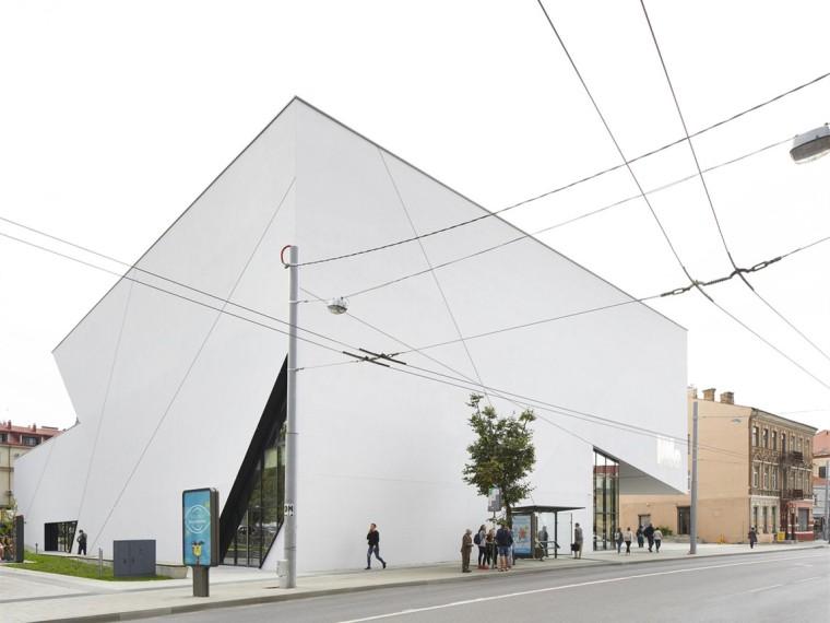 US现代建筑资料下载-立陶宛MO现代艺术博物馆