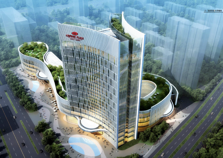 [内蒙古]东河湾皇冠假日酒店建筑方案设计文本