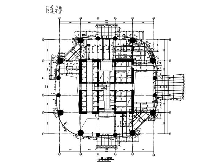 [湖北]88层巨型框架+核心筒+伸臂桁架财富中心大厦建筑结构全套施工图(428米)(建筑、结构、水暖、设备)