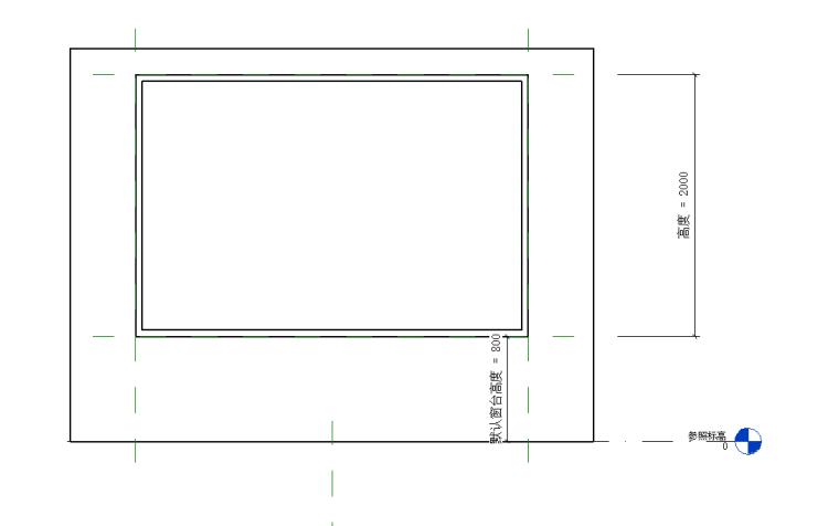bim族库-revit族文件-窗框
