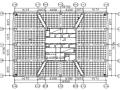 蜂巢芯空心楼盖框筒结构房屋简化设计