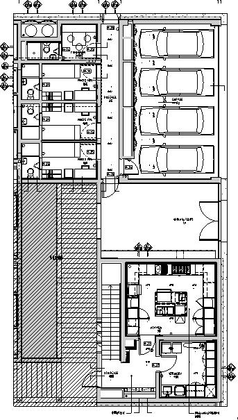[上海]养云安缦酒店空间设计施工图(附效果图)