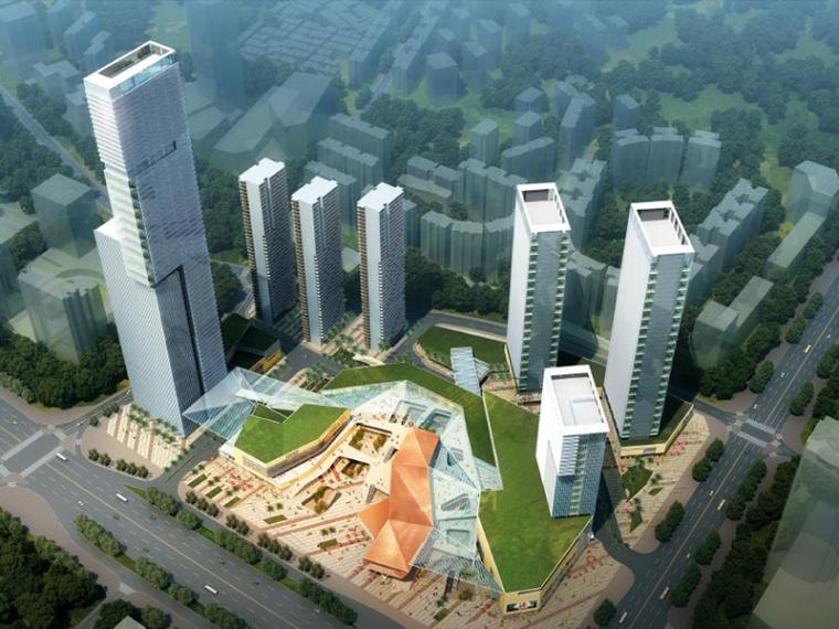 [广东]KPF东莞市民盈大厦商业综合体建筑设计方案文本(205张)
