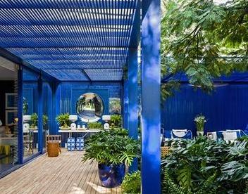 世界5大风格别墅庭院设计-地中海遇见园林,庭院邂逅浪漫