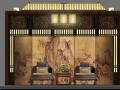 HKG-特色小镇旅游街景区销售展示厅+新中式民宿客栈室内设计方案、效果图