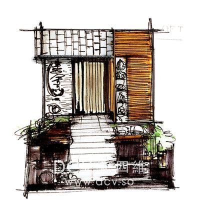 西安日式料理餐厅设计-惠舍.炉端烧-西安聚会最好的日式料理餐厅设计第1张图片