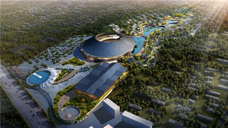 [观光旅游地产规划设计]泰安旅游集散中心