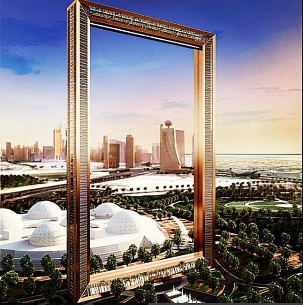 迪拜新地标完工!从建筑顶部可眺望整个迪拜全貌
