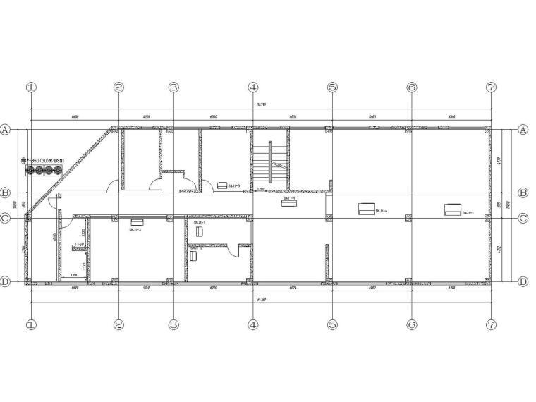 [广州]2017年蓝色港湾售楼处最新施工图(采用美的MDV4+系列直流变频多联机组)