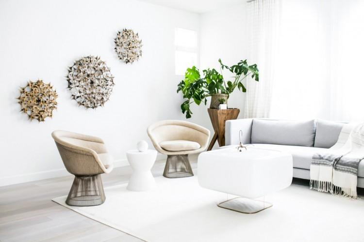 大空间的简约家装,宽敞明亮的家装设计
