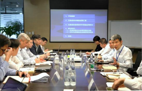 上海五角场万达广场改造BIM启动会探索商业广场改造应用方法