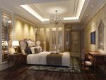 欧式豪华卧室3D模型下载