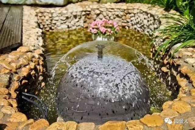 花园景观·石器小景_40