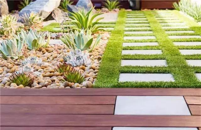 花园铺装,这样才美