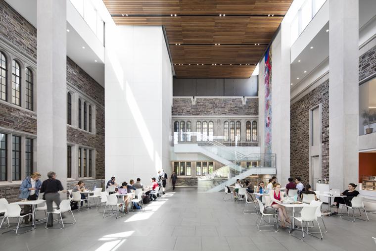 普林斯顿大学教学楼-7