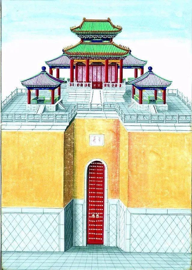另一个视角:外国人画笔下的中式古典建筑_22