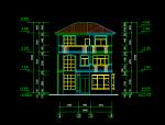 四层别墅建筑结构施工图