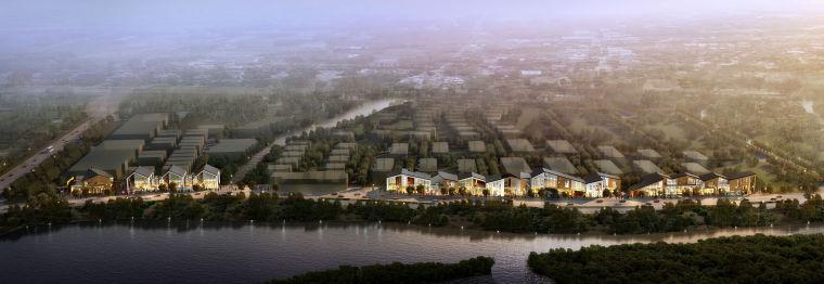 中式园林农村规划建筑景观方案设计